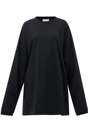Raey Women Sweats - Oversized Recycled-yarn Cotton-blend T-shirt - Womens
