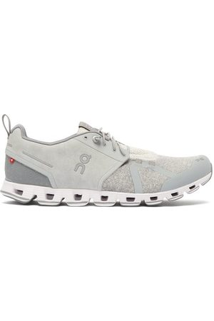 On Cloud Terry Running Trainers - Mens - Grey