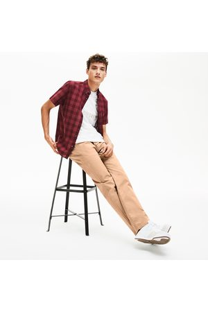 Lacoste Men's Regular Fit Stretch Cotton Chinos :