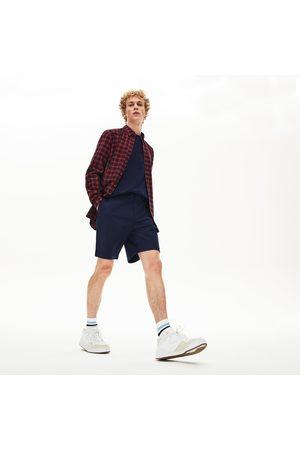 Lacoste Men's Regular Fit Cotton Gabardine Bermuda Shorts :