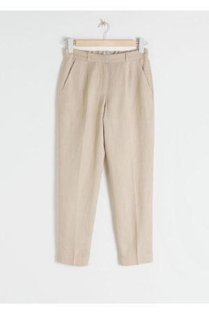 & OTHER STORIES Tapered Cotton Trousers