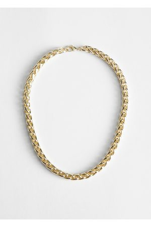 & OTHER STORIES Twisted Chain Link Necklace