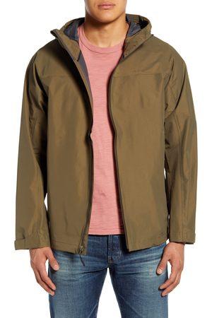 Filson Men's Swiftwater Waterproof Hooded Rain Jacket