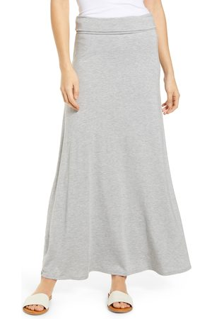 Loveappella Women's Roll Top Maxi Skirt