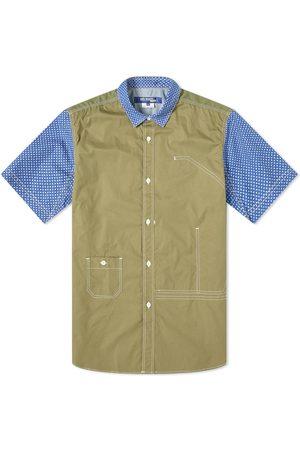 JUNYA WATANABE Men Short sleeves - Short Sleeve Contract Shirt