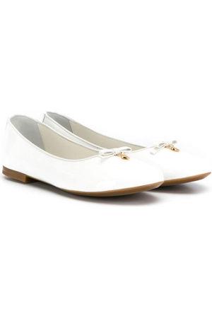 Dolce & Gabbana Logo tag ballerina shoes