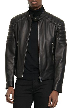Sandro Biker Leather Jacket