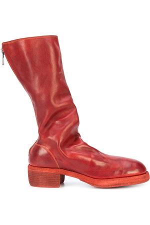 GUIDI Rear-zipped boots