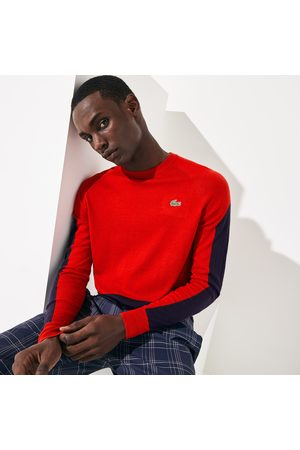 Lacoste Men's Sport Color-blocked Breathable Wool Sweater : /