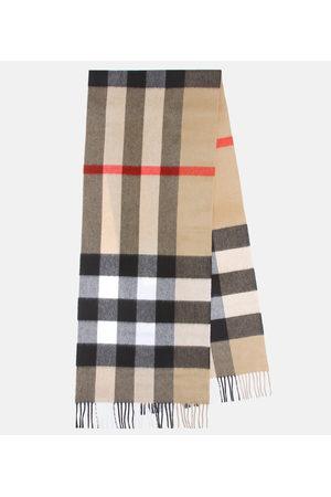 Burberry Mega Check cashmere scarf