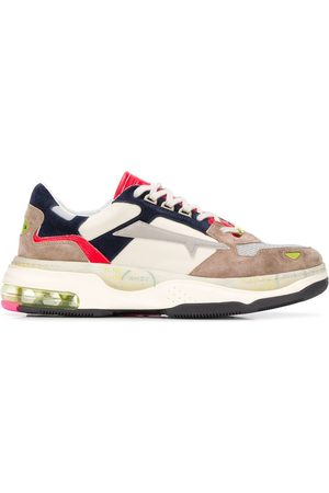 Premiata Drake panelled sneakers - Neutrals