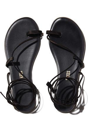 Tkees Women's Jo Ankle-Tie Sandals