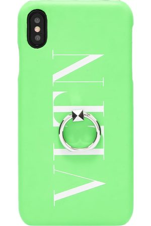 VALENTINO Men Rings - Fluo VLTN iPhone Xs Maxcase