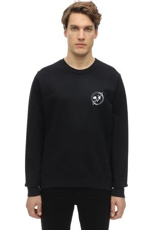 Passarella Death Squad Yes No Crewneck Sweatshirt W/ Prints