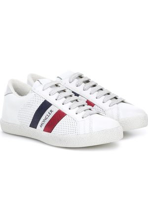 Moncler Ryegrass leather sneakers