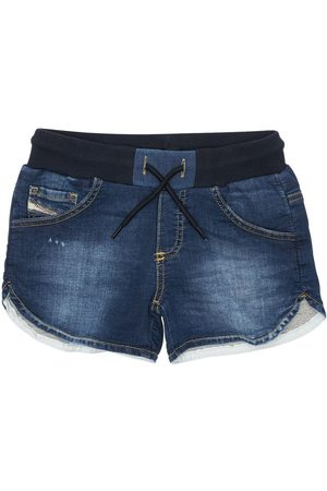 Diesel Effect Cotton Shorts