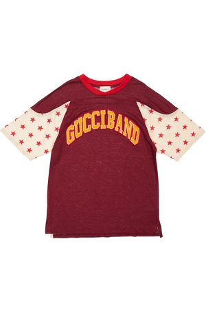 Gucci Linen T-shirt W/ Patch