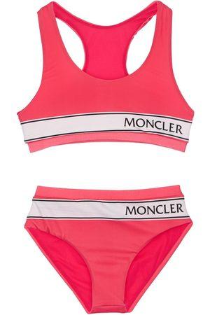 Moncler Logo Print Bikini