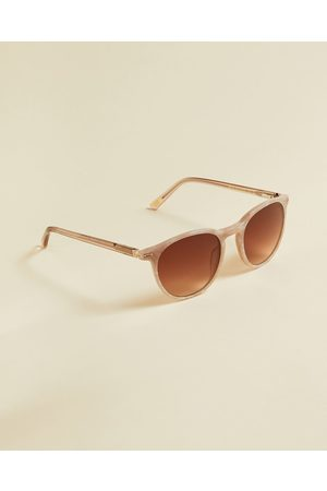 Ted Baker Women Round - Round Marbled Sunglasses