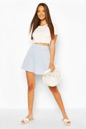 Boohoo Womens Basic Loopback Shorts - - 4