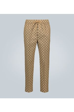 Gucci GG canvas jacquard jogging pants