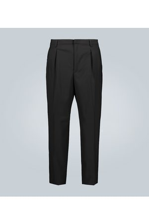 VALENTINO Wool straight-leg pants