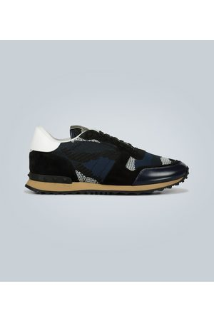 VALENTINO GARAVANI Knitted Rockrunner sneakers