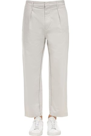 Isabel Marant Men Pants - Pleated Light Cotton Pants