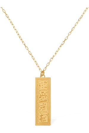 AMBUSH Ofuda Logo Long Chain Necklace