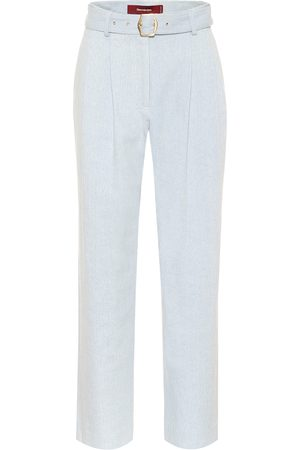 Sies marjan Blanche high-rise straight pants