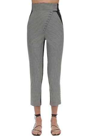 COPERNI Capri High Waist Cotton Pants