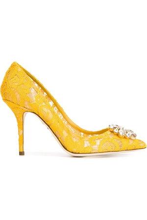 Dolce & Gabbana Women Heels - Belluci Taormina lace pumps
