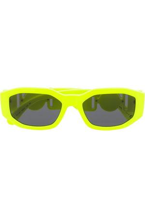 Versace Eyewear Sunglasses - Oval frame sunglasses