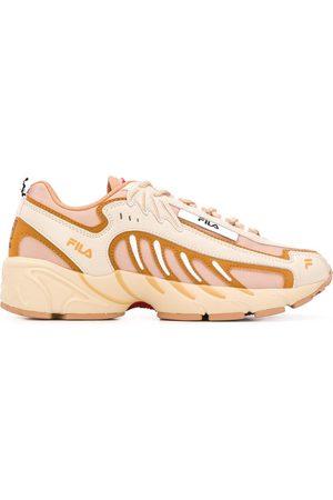 Msgm X Fila panelled sneakers - Neutrals