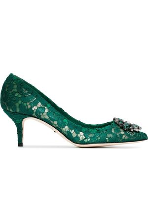 Dolce & Gabbana Women Heels - Bellucci 60mm Taormina lace pumps