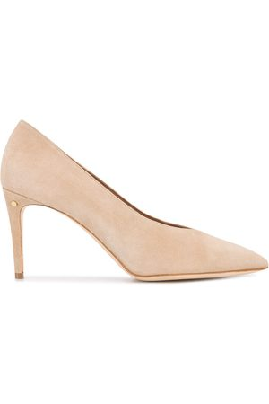 LAURENCE DACADE Pointed high heel pumps - Neutrals