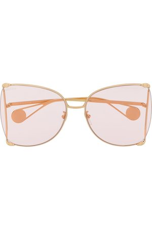 Gucci Butterfly-frame sunglasses