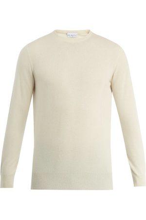 Raey Slim-fit Crew-neck Cashmere Sweater - Mens - Ivory