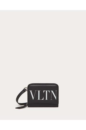 VALENTINO GARAVANI Vltn Wallet With Neck Strap Man 100% Pelle Bovina - Bos Taurus OneSize