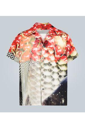 Maison Margiela Cherry printed short-sleeved shirt