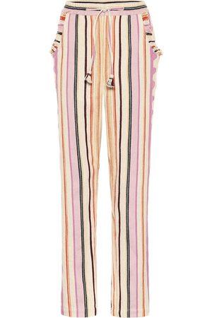 Isabel Marant Powlandi cotton-blend pants