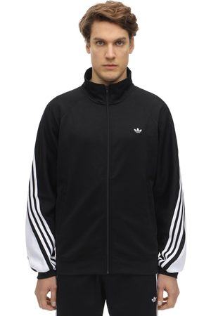 adidas 3-striped Wrap Logo Track Sweatshirt