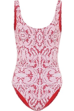 Etro Printed onepiece swimsuit