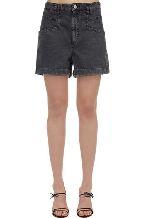 Isabel Marant Esquia Cotton Denim Shorts