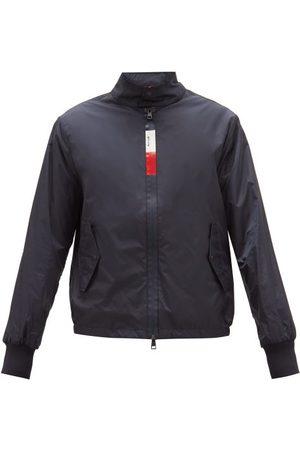 Moncler Men Jackets - Tricolour-zip Shell Windbreaker Jacket - Mens - Navy