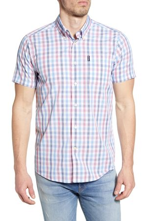 Barbour Men's Tattersall 14 Short Sleeve Button-Down Shirt