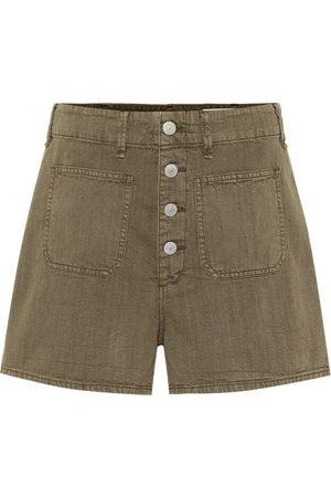 RAG&BONE High-rise cotton shorts