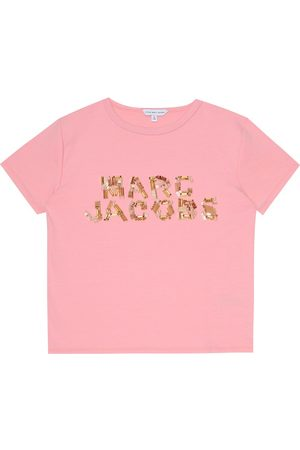 Marc Jacobs Embellished jersey T-shirt
