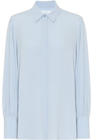 The Row Exclusive to Mytheresa – Oni silk shirt