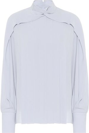 The Row Exclusive to Mytheresa – Gila silk blouse